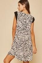 Floral Leopard Blush Savanna Jane Dress