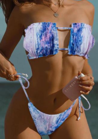 To Dye for Bikini Set- 2 colors! *Final Sale*
