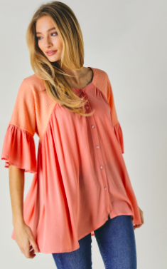 Coral me Up Top