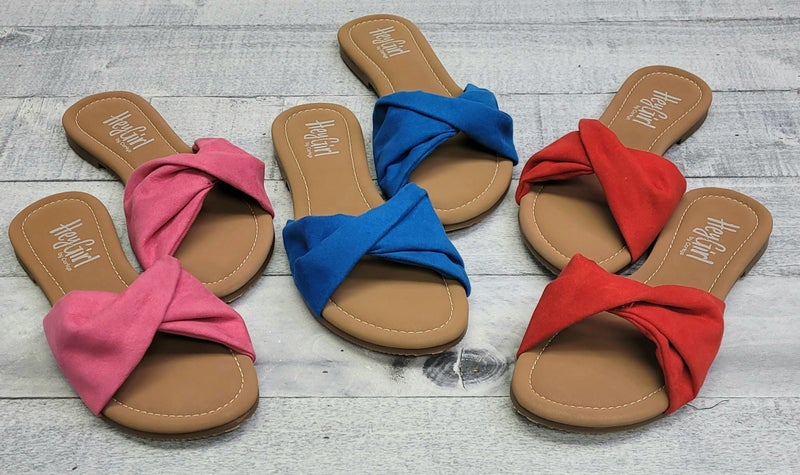 All We Know Corky Sandals - 3 colors!