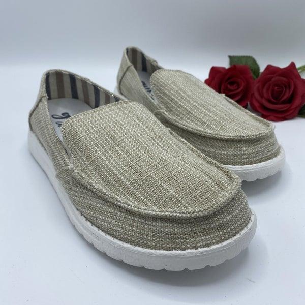 Everyday Slip On Tan Sneakers