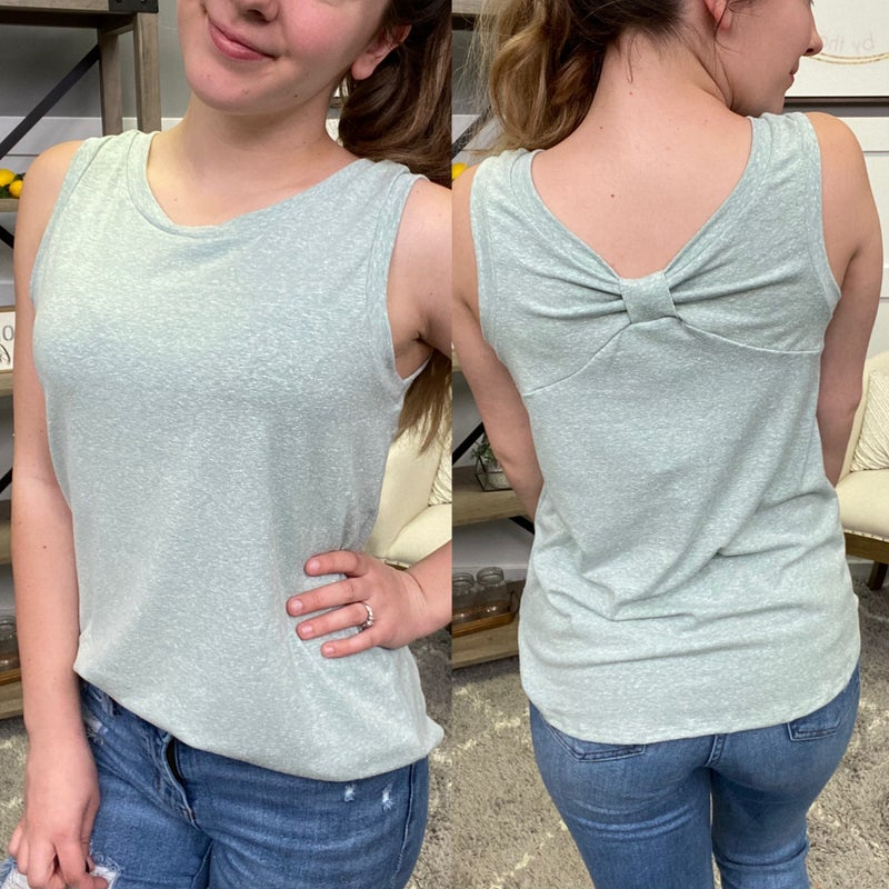 Tie Me Up With a Bow Tank - 2 colors!