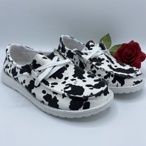 Go Out With a Moo Sneaker