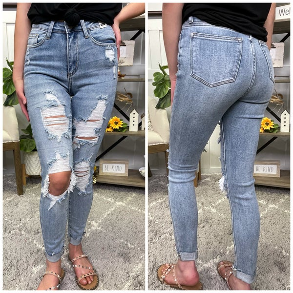 The Sam High Rise Judy Blue Jeans