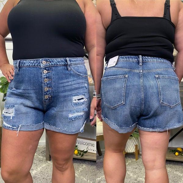 The Erika High RIse KanCan Shorts