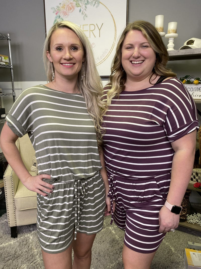 Small Town Romper - 2 colors!