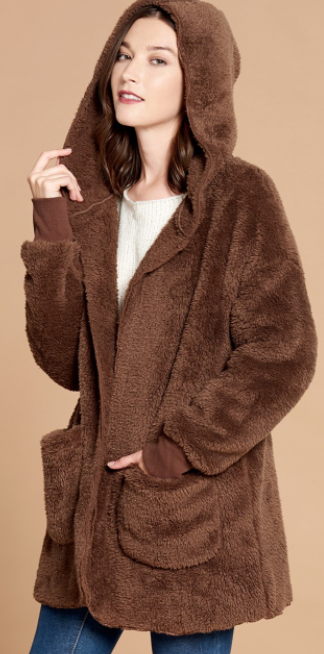 Brown Bear Cardigan