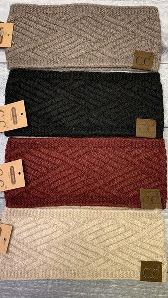 Diagonal Criss-Cross Head Wrap - 4 colors!