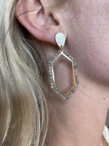 Count me in Earrings - 3 colors!