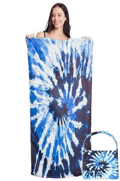 Tie-Dye 2-in-1 Towel Bag
