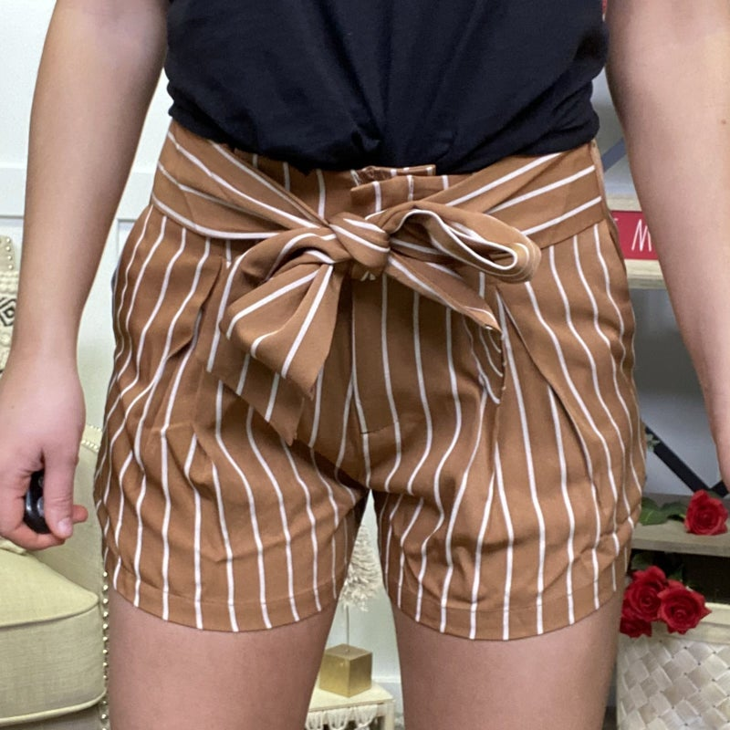 Going Out Waist Tie Shorts