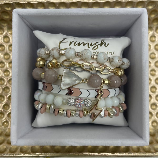A Mother's Gem Erimish Bracelet - 4 Styles!