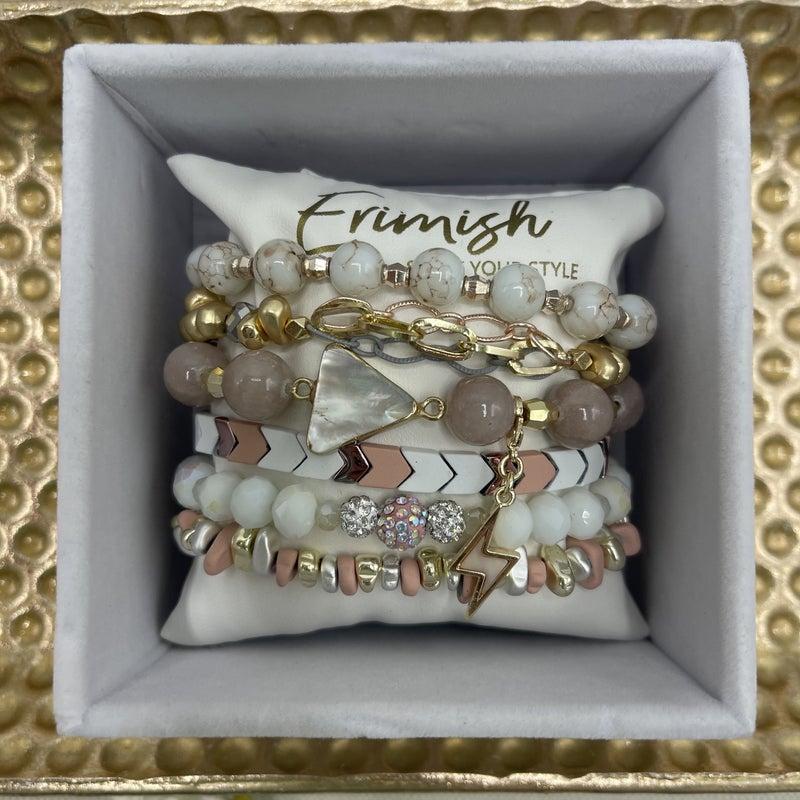A Mother's Gem Erimish Bracelet - 4 Styles!