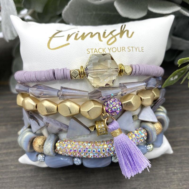 Shades Of Violet Erimish Bracelet