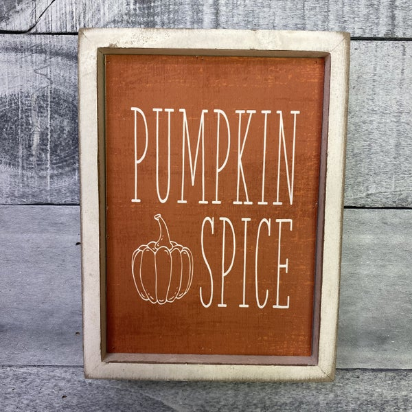 White Wash Changing Seasons Signs - 4 options!