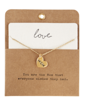 Hearts for Mom Necklace