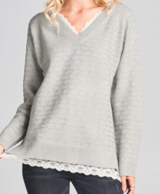 Keeping Cozy Sweater