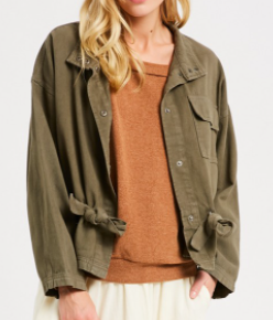 Dress Me In Army Jacket