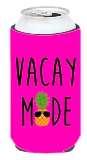 Summer Time Slim Koozies - 3 options!
