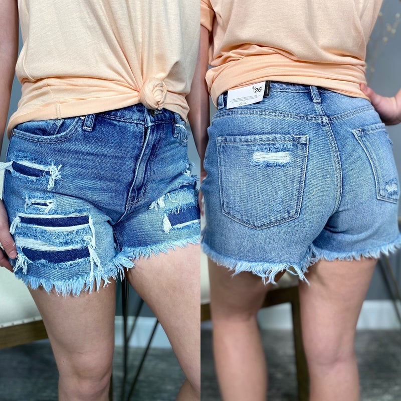 Something Better High Rise KanCan Shorts