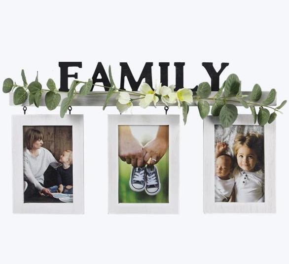 Hanging 4X6 Family Photo Frame