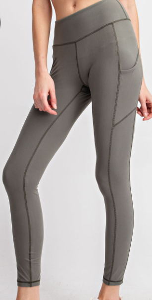 Work it Out Charcoal Leggings