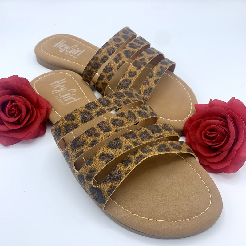 Way Too Extra Corky Sandal