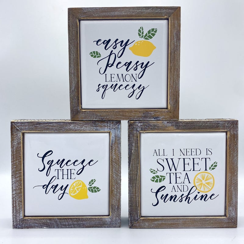 When Life Gives You Lemons Decor - 3 options!