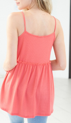 Sleeveless Solid Knitted Top-2 Colors