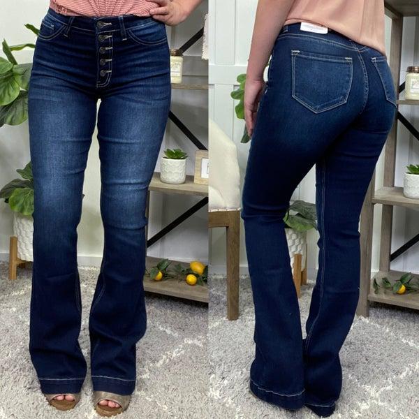 The Ollie High Rise Bootcut Kancan Jeans