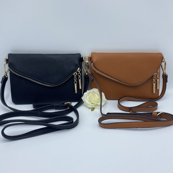 Zipping Around Town Crossbody - 2 colors!