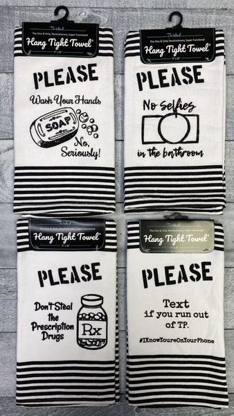 Terry Cloth Hang Tight Towel