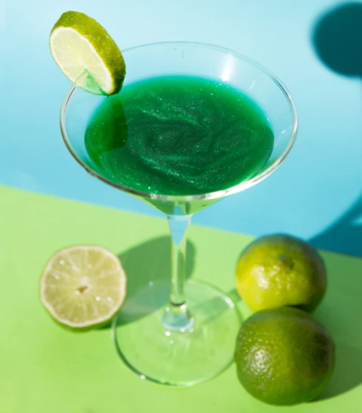 Green Shimmer Fun