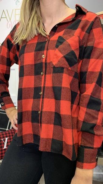 Lumber Plaid Flannel