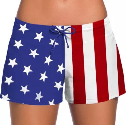 Not Short of American Pride Swim Shorts
