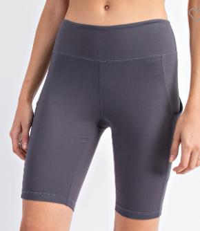 Getting In Shape Biker Shorts