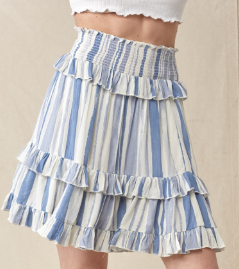 Going all Day Skirt - 2 colors!