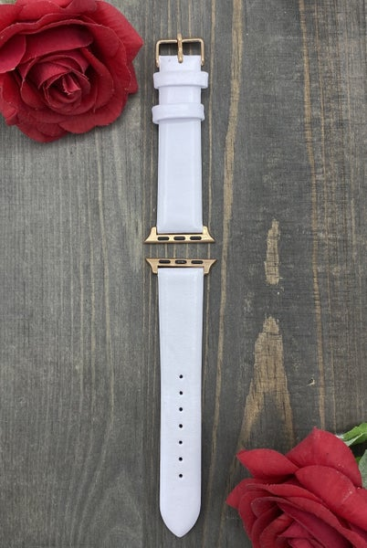 38/40mm White Apple Watchband