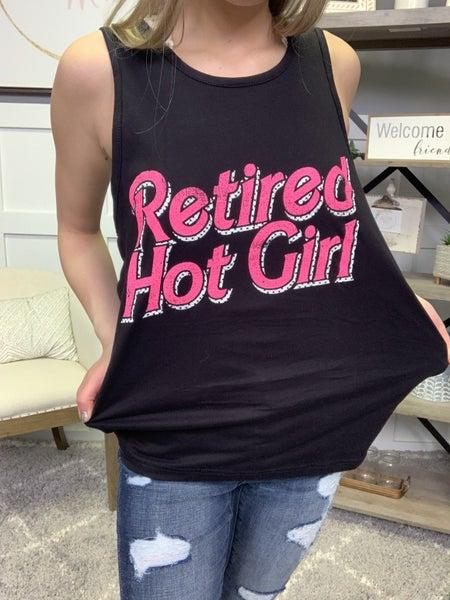 Retired Hot Girl Tank