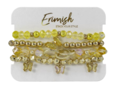 Fly Like a Butterfly Erimish Bracelet - 4 colors!