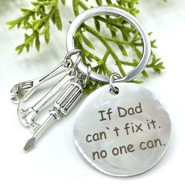 Handyman Dad Keychain