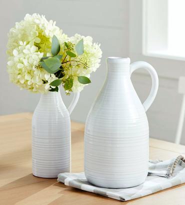 Milk Jug Vase - 2 options!