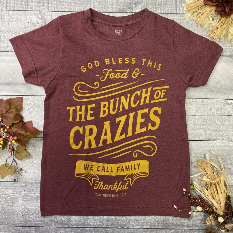 Bless This Food & Family Youth Tee