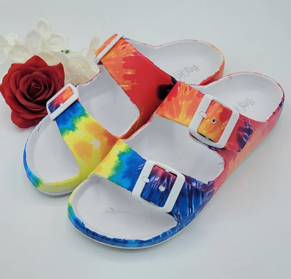 Getting Groovy Corky Sandals