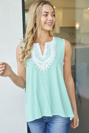 Summer Breeze Sleeveless Top - 3 colors!