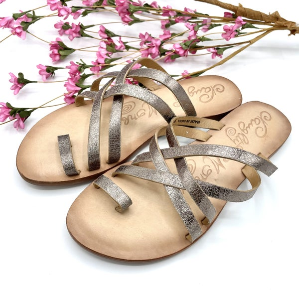 Whole World At Your Feet Sandals