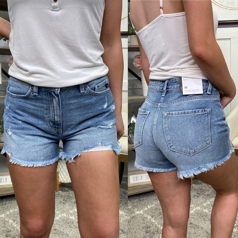 Lizzy High Rise KanCan Shorts