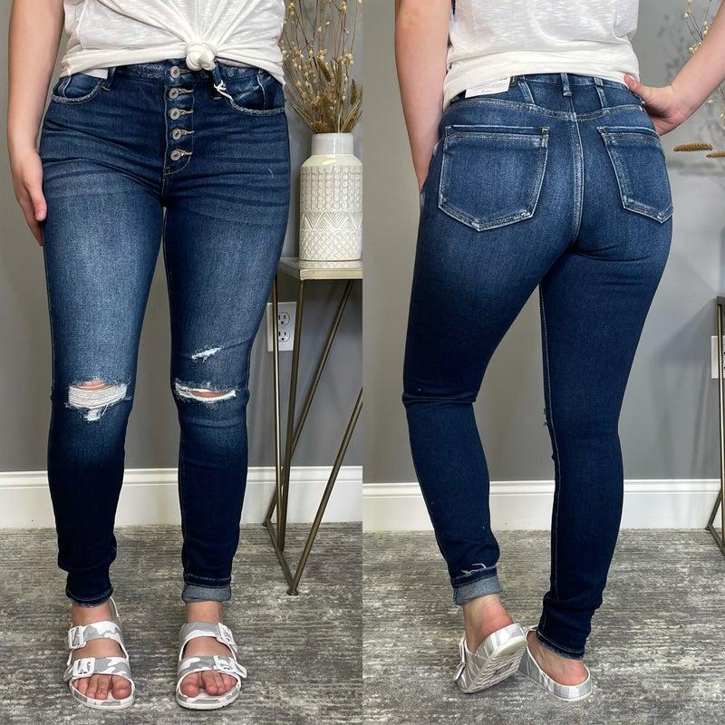 The Heather Skinny High Rise  KanCan Jean