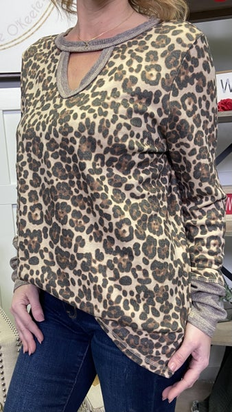 All the Leopard Top