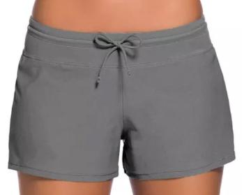 Grey Swim Shorts